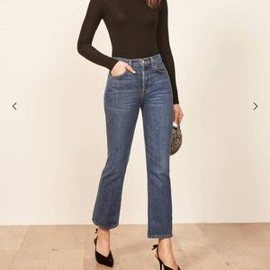 Reformation Jordi Crop Flare Jeans